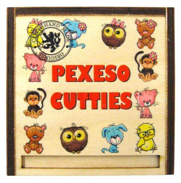Dřevěné Pexeso 24ks v dřevěné krabičce