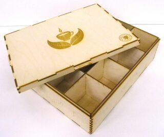Krabice na Čaj 4x3 Klasik